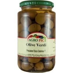 Olive verdi in salamoia - 6 pz